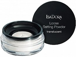 Parfüm, Parfüméria, kozmetikum Átlátszó porpúder - IsaDora Loose Setting Powder Translucent