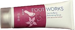 Parfüm, Parfüméria, kozmetikum Lábradír - Avon Foot Works Vanilla Berry Exfoliating Scrub