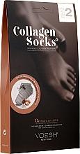 Parfüm, Parfüméria, kozmetikum Kollagén zokni - Voesh Collagen Socks Value Pack