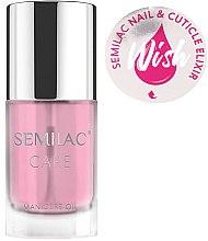 Parfüm, Parfüméria, kozmetikum Köröm- és körömágybőr ápoló olaj - Semilac Care Nail & Cuticle Elixir Wish