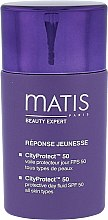 Parfüm, Parfüméria, kozmetikum Nappali bőrvédő folyadék - Matis Paris Reponse Jeunesse CityProtect Day Fluid SPF 50