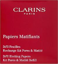 Parfüm, Parfüméria, kozmetikum Mattító kendő - Clarins Kit Pores & Matite (utántöltő)