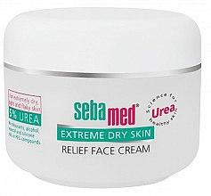 Parfüm, Parfüméria, kozmetikum Arckrém nagyon száraz bőrre - Sebamed Extreme Dry Skin Relief Face Cream 5% Urea