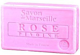 """Parfüm, Parfüméria, kozmetikum Természetes szappan """"Rózsa és tubarózsa"""" - Le Chatelard 1802 Soap Rose & Peony"""