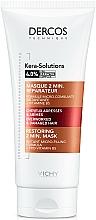 Parfüm, Parfüméria, kozmetikum Helyreállító maszk sérült gyenge hajra - Vichy Dercos Kera-Solutions Conditioning Mask