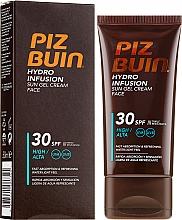 Parfüm, Parfüméria, kozmetikum Napvédő krém és gél arcra - Piz Buin Hydro Infusion SPF 30