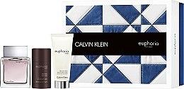 Parfüm, Parfüméria, kozmetikum Calvin Klein Euphoria Men - Szett (edt 100ml + a/sh/b 100ml + deo-stik 75ml)