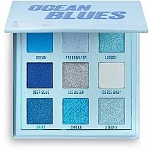 Parfüm, Parfüméria, kozmetikum Szemhéjfesték paletta - Makeup Obsession Ocean Blues Eyeshadow Palette