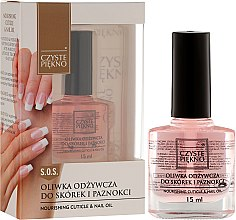 Parfüm, Parfüméria, kozmetikum Körömágy ápoló olaj - Czyste Piękno Nourising Cuticle & Nail Oil