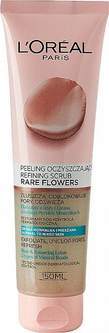 Arctisztító - L'Oreal Paris Skin Expert Rare Flowers Refining Scrub