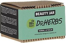 Parfüm, Parfüméria, kozmetikum Ajakbalzsam - Beauty Jar Dr.Herbs Herbal Lip Balm