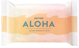 Parfüm, Parfüméria, kozmetikum Természetes szappan - Oh!Tomi Aloha Peach Hibiscus Soap