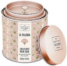 Parfüm, Parfüméria, kozmetikum Scottish Fine Soaps La Paloma - Illatosított fürdőpor