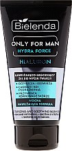 Parfüm, Parfüméria, kozmetikum Hidratáló arclemosó gél - Bielenda Only For Man Hydra Force Hialuron Face Wash Gel