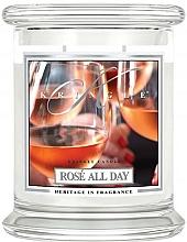 Parfüm, Parfüméria, kozmetikum Illatosított gyertya üvegben - Kringle Candle Rose All Day