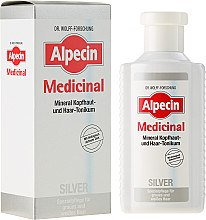 Parfüm, Parfüméria, kozmetikum Tonik sárgás tónus neutralizásála ősz hajra - Alpecin Medicinal Silver