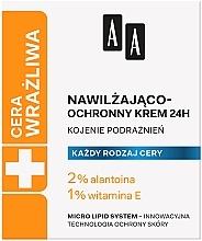 Parfüm, Parfüméria, kozmetikum Hidratáló és védőkrém - AA Technolgia Wieku Cera Wrażliwa Moisturizing-Protective Cream