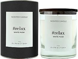 """Parfüm, Parfüméria, kozmetikum Illatgyertya """"Fehér muszkusz"""" - Ambientair The Olphactory Relax White Musk Black Design"""