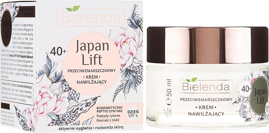Hidratáló nappali ránctalanító krém 40+ - Bielenda Japan Lift Day Cream SPF6