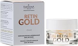 Parfüm, Parfüméria, kozmetikum Retinol koncentrátum kapszulában - Farmona Retin Gold Firming Dermocapsules 100% Retinol