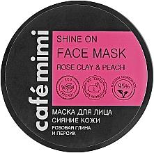 """Parfüm, Parfüméria, kozmetikum Arcmaszk """"Fényesítő"""" - Cafe Mimi Face Mask"""