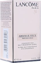 Parfüm, Parfüméria, kozmetikum Szemkörnyékápoló szérum - Lancome Absolue Precious Cells Serum Eyes