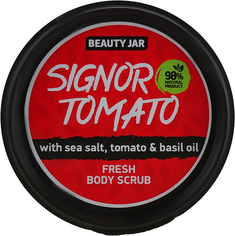"Testradír ""Signor Tomato"" - Beauty Jar Fresh Body Scrub"