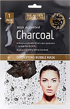 Parfüm, Parfüméria, kozmetikum Arcmaszk - Beauty Formulas With Activated Charcoal Detoxifying Bubble Mask