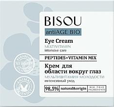 """Parfüm, Parfüméria, kozmetikum Szemkörnyék krém """"A fiatalság multivitaminja"""" - Bisou AntiAge Bio Eye Cream"""
