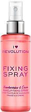 Parfüm, Parfüméria, kozmetikum Sminkfixáló spray - I Heart Revolution Fixing Spray Strawberries & Cream