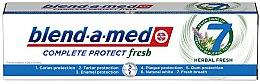 "Parfüm, Parfüméria, kozmetikum Fogkrém ""Complete Protect fresh"" - Blend-a-Med Complete Protect Fresh 7 Herbal Fresh Toothpaste"