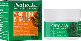 Parfüm, Parfüméria, kozmetikum Nappali arckrém - Perfecta Your Time is Green