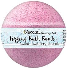 Parfüm, Parfüméria, kozmetikum Fürdőbomba málna - Nacomi Sweet Raspberry Cupcake Bath Bomb