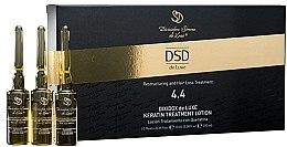 Helyreállító lotion keratinnal Dixidox DeLuxe № 4.4 - Divination Simone De Luxe Dixidox De Luxe Keratin Treatment Lotion — fotó N1