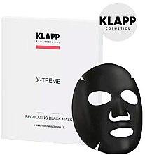 Parfüm, Parfüméria, kozmetikum Kiegyensúlyozó fekete maszk - Klapp X-Treme Regulating Black Mask