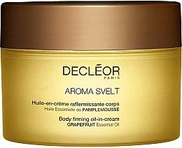 Parfüm, Parfüméria, kozmetikum Feszesítő testkrém olajokkal és növényi kivonatokkal, grapefruit - Decleor Aroma Svelt Firming Body Cream