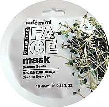 """Parfüm, Parfüméria, kozmetikum Arcmaszk """"Szezám és shea"""" - Cafe Mimi Face Mask"""