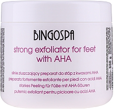 Parfüm, Parfüméria, kozmetikum Erős lábhámlasztó - BingoSpa Strong Exfoliant for Feet with AHA