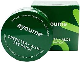 Parfüm, Parfüméria, kozmetikum Szem alatti tapasz zöld tea és aloe kivonattal - Ayoume Green Tea + Aloe Eye Patch