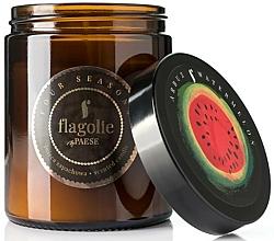 """Parfüm, Parfüméria, kozmetikum Illatgyertya üvegben """"Dinnye"""" - Flagolie Fragranced Candle Watermelon"""