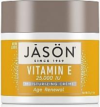 Parfüm, Parfüméria, kozmetikum Regeneráló arc és testkrém E-vitaminos - Jason Natural Cosmetics Age Renewal Vitamin E