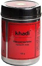 """Parfüm, Parfüméria, kozmetikum Növényi hajfesték """"Henna és indiai egres"""" - Khadi Herbal Hair Colour Henna & Amla"""