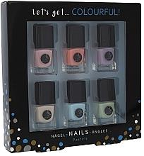 Parfüm, Parfüméria, kozmetikum Készlet - Cosmetic 2K Let's Get Colourful! Pastels Nail Polish (nail/laquer/6x5ml)