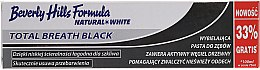 Parfüm, Parfüméria, kozmetikum Fogkrém - Beverly Hills Formula Natural White Total Breath Black