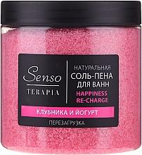 """Parfüm, Parfüméria, kozmetikum Természetes fürdősó-hab """"Eper és joghurt"""" - Senso Terapia Happines Re-Charge"""