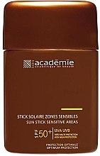 Parfüm, Parfüméria, kozmetikum Napvédő stift érzékeny területekre - Academie Sun Stick Sensitive Areas SPF 50+