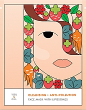 Parfüm, Parfüméria, kozmetikum Arctisztító maszk - You & Oil Cleansing & Anti-Pollution Face Mask With Liposomes
