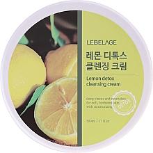 Parfüm, Parfüméria, kozmetikum Tisztító krém citrom kivonattal - Lebelage Lemon Detox Cleansing Cream