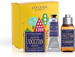 Parfüm, Parfüméria, kozmetikum L'Occitane Pour Homme - Szett (sh/gel/75ml + ash/balm/30ml + soap/50g)
