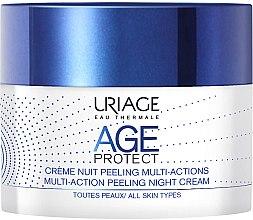 Parfüm, Parfüméria, kozmetikum Többfunkciós éjszakai krém-peeling arcra - Uriage Age Protect Multi-Action Peeling Night Cream